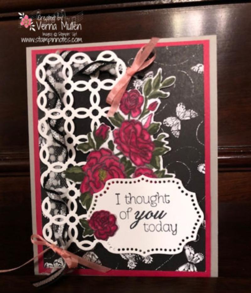 Rose trellis card4