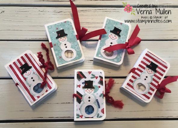 Snowman Tic Tac Boxes 2