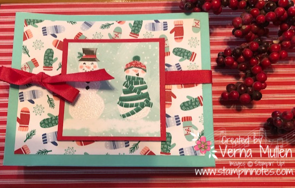 Snowman card box finala