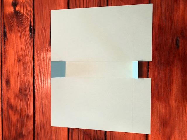 Snowman box cut tabs