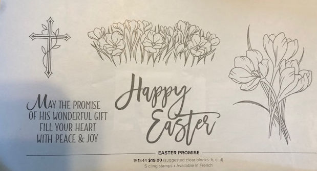 Easter promise stamp set2