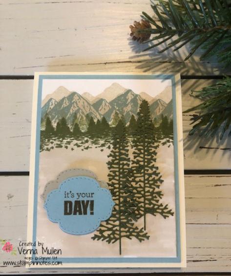 Majestic mountain card2
