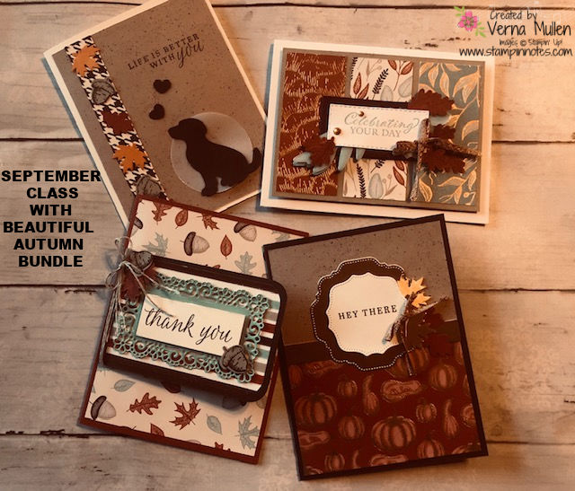 Sept. Beautiful Autumn card class2