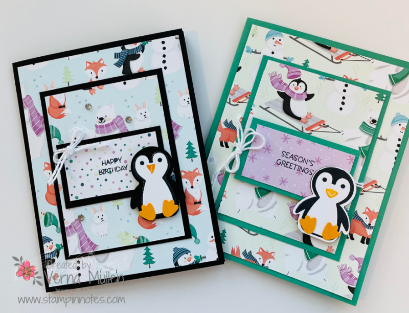 Penguin Place layered card2