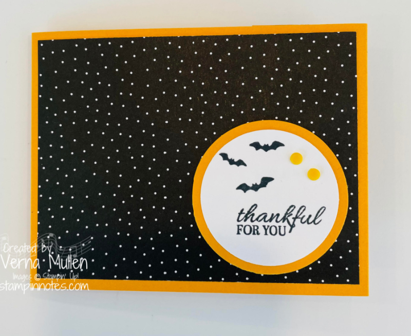 Sparkle of the SEason Halloween Gift Card front2