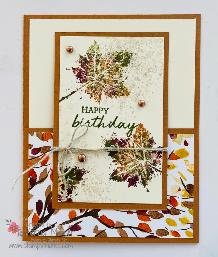 Gorgeous leaves card light color2