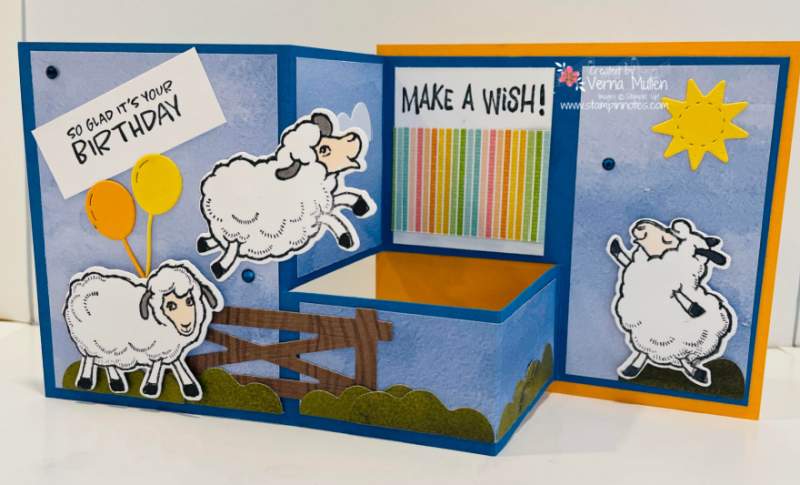 Counting sheep pull out fun fold2